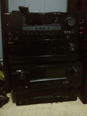 Different prices Denon Yamaha Sony 4k HDMI stereo receiver amplifier for home stereo speakers for Sale in Long Beach, CA