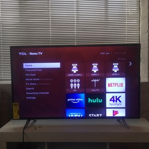 "TCL 44"" FLAT SCREEN for Sale in S CHESTERFLD, VA"
