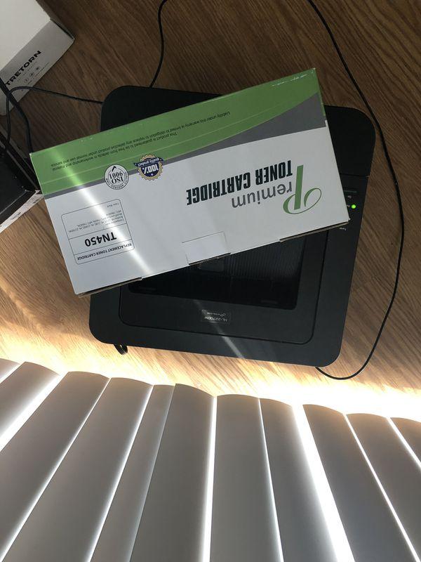 Laser Printer and Replacement Toner