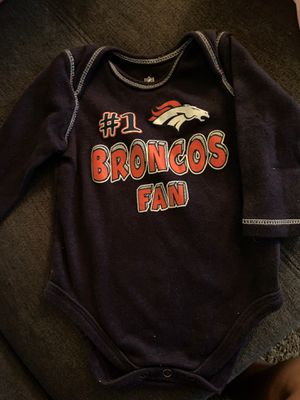 Free Broncos baby 3-6 months for Sale in Bellflower, CA