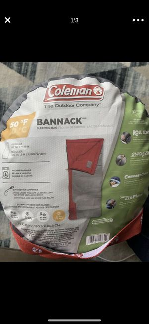 Brand New! - Coleman Sleeping Bag for Sale in Coronado, CA