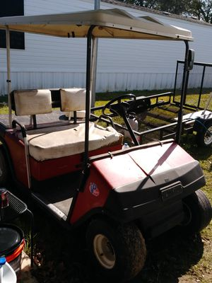 Golf cart and trailer $3,000 firm.. runs great for Sale in Lake Charles, LA