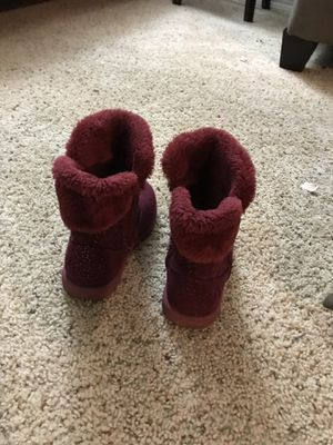 Toddler girl winter boot size 10 piper brand for Sale in Brandon, FL