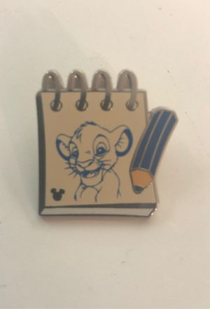 Disney's Lion King SIMBA notebook Hidden Mickey Trading Pin for Sale in Davenport, FL