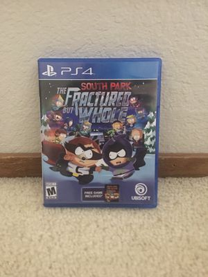 South Park The Fractured But Whole Ps4 for Sale in Richmond, CA