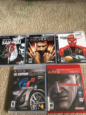 PlayStation 3 games for Sale in Cutler Bay, FL