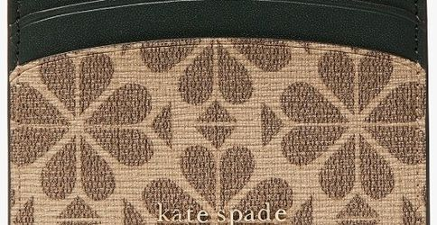 Authentic Kate Spade Tan Heart Card Holder for Sale in Lovettsville,  VA