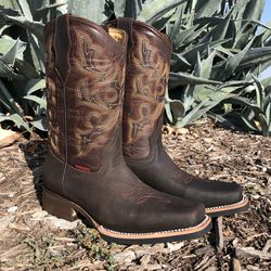 Rodeo Café Chocolate | Work Sole - 100% Leather! ROMÁN BOOTS!! Delivery Service Included!!! for Sale in San Antonio,  TX