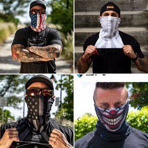 4 Salt Armour Fishing Shields/Masks. 1 Blacked American Flag 1 Full Color American Flag 1 Whoteout American Flag 1 Joker for Sale in Lakeland, FL
