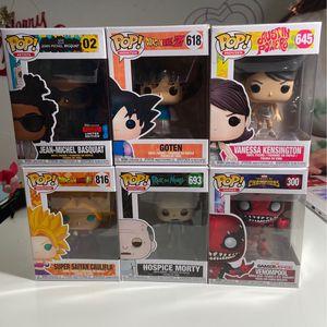 FUNKO POPS!!! for Sale in San Jose, CA