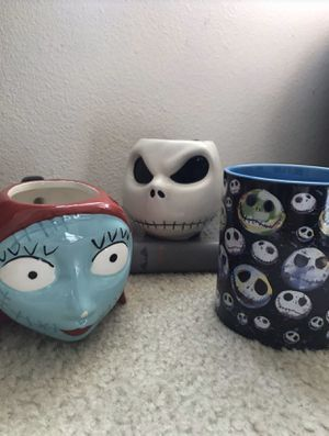 Nightmare Before Christmas Mugs for Sale in BETHEL, WA