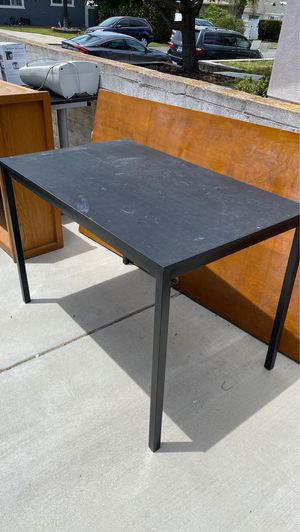 Ikea black table for Sale in San Diego, CA