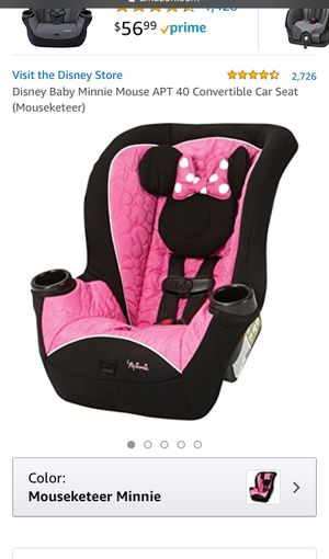 Baby girls girl car seat car seat for Sale in Escondido, CA