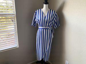 NEW Wayf Blue/White Stripped Dress for Sale in Tucson, AZ