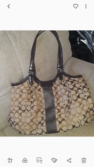 Large Coach Purse for Sale in Lawndale, CA