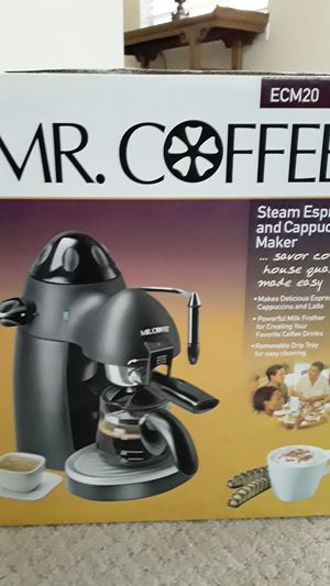 Mr. Coffee steam espresso & cappuccino maker. for Sale in Herndon, VA