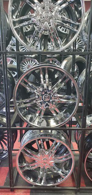 "22"" Borghini Rim And Tire Package - $0 Dow5 for Sale in Detroit, MI"