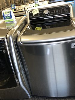 New LG Black Stainless Washer for Sale in Arlington,  TX