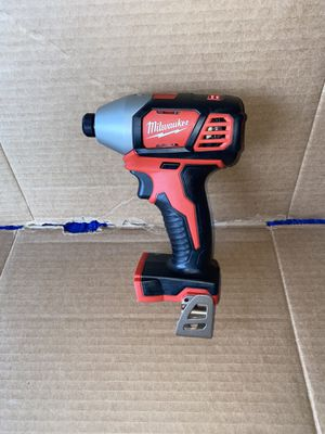 Milwaukee M18 18-Volt Lithium-Ion Cordless 1/4 in. Hex Impact Driver (Tool-Only) New for Sale in Riverbank, CA