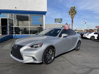 2014 Lexus Is 350 for Sale in Las Vegas,  NV
