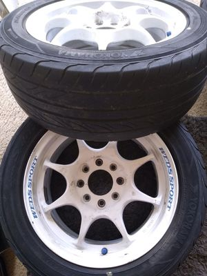 Rims Wedssport TC05 15x8 very rare and lightweight for Sale in Beltsville, MD