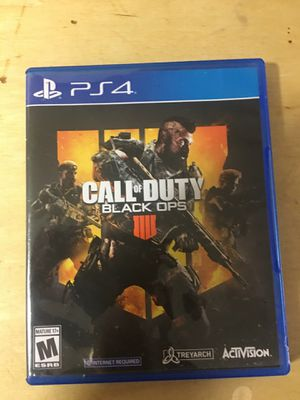 PS4 call of duty 4 for Sale in Fort Myers, FL