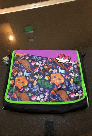Bravest warriors laptop backpack messenger bag for Sale in Beverly Hills, CA