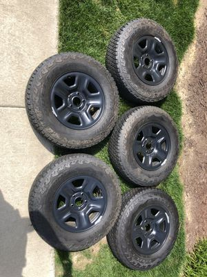 New Jeep Wrangler Wheels for Sale in Hillsborough, NC