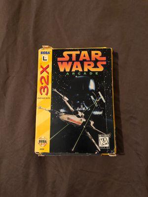 CIB Star Wars Arcade SEGA 32x for Sale in Miami, FL