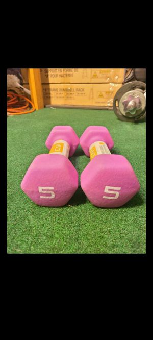 5lb Dumbbells New for Sale in Garden Grove, CA