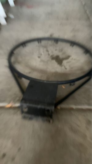 Basketball hoop in good condition needs net and bolts to screw it onto the back board for Sale in Surprise, AZ