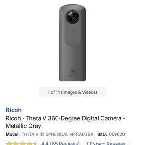 360 Camera RICOH THETA V 4k for Sale in Springfield, VA