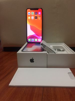 Factory unlocked iPhone X 64 GB for Sale in Tacoma, WA