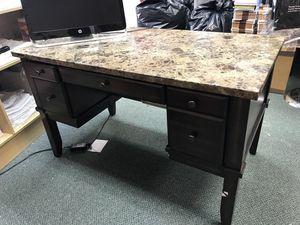 Granite top office desk for Sale in Sterling, VA