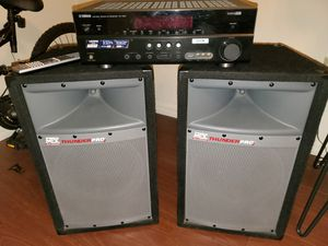 Speakers and receiver for Sale in Gainesville, FL