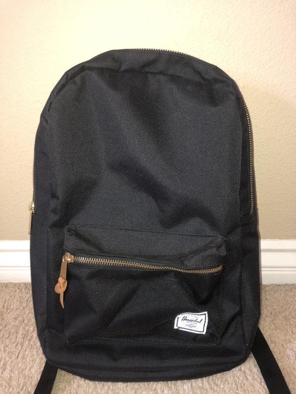 Black Herschel Settlement Backpack   Mid-Volume