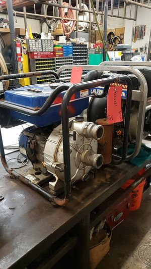 "2"" trash pump for sale as is motor runs for Sale in Seattle, WA"