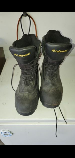 Lacrosse waterproof steel toe heavy duty boots. for Sale in Addison, IL