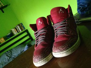 Jordan 1 red elephant print (size 4.5) for Sale in Lockport, NY