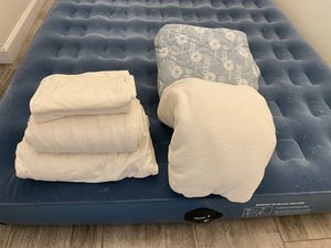 Air Mattress by Aero with sheet set and blanket for Sale in Scottsdale, AZ