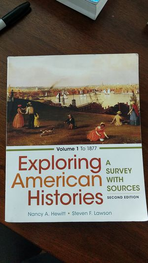 Exploring American histories volume 1 a survey with sources 2nd edition for Sale in Upland, CA