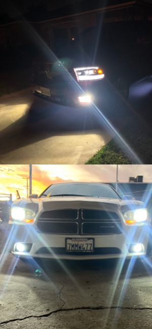 Led headlights 25$ pair free license plate LEDs with purchase for Sale in Los Angeles, CA