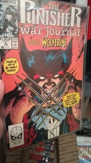The punisher war journal staring wolverine for Sale in Poway, CA
