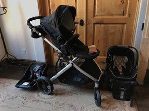 Britax B-READY Travel System plus extra base and stroller organizer 2013 for Sale in Gilbert, AZ