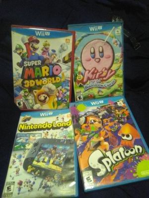 Nintendo Wii u games for Sale in Oakland, CA