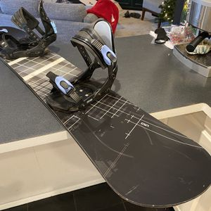 """LTD """"Transition"""" Snowboard (158cm) with Lamar MX5 Bindings (Snow Board ) for Sale in Portland, OR"""