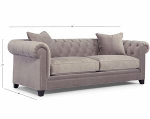 "Grey tufted couch—Martha Stewart ""Saybridge"" collection for Sale in Marietta, OH"