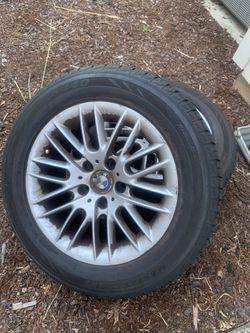 BMW RIMS AND TIRES off 2003 bmw 530i for Sale in Portland,  OR