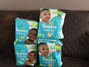 Pamper diapers for Sale in Escondido, CA