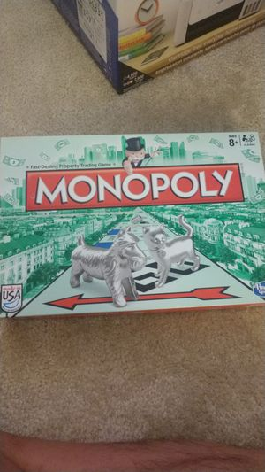 Monopoly Board Game in great condition for Sale in Raleigh, NC